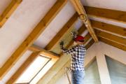 Ensure your attic insulation is adequate